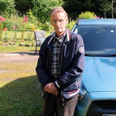 Kari Repo, Vainikkala, auto varastettiin Venäjällä