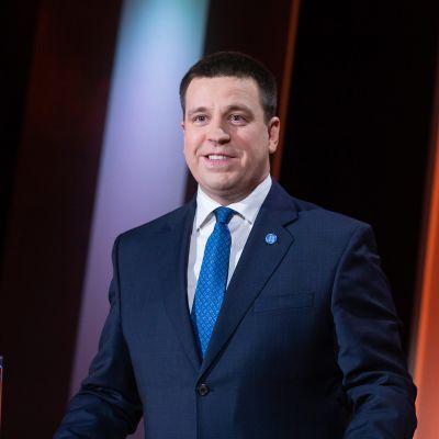 Viron keskustapuolueen (Keskerakond) puheenjohtaja Juri Ratas