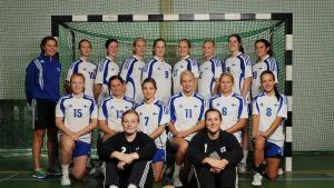Finlands damlandslag i handboll, hösten 2012