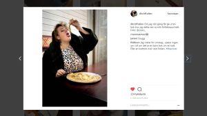 Ellen Strömberg på Instagram.