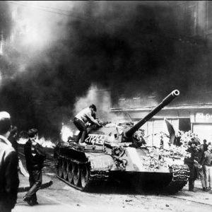 Sovjetiska tankers i Prag år 1968