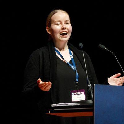 Atorox-palkinnon voittaja Maiju Ihalainen