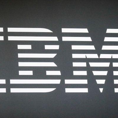 Teknologiayhtiö IBM:n logo