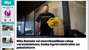 Kuvakaappaus: nyt.fi
