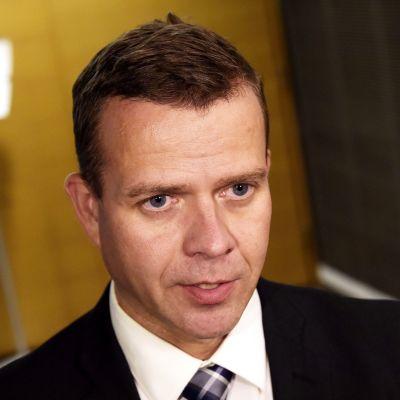 Sisäministeri Petteri Orpo (kok.) 11. syyskuuta.