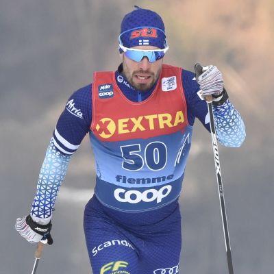 I början av januari tävlade Lari Lehtonen i italienska Val di Fiemme.