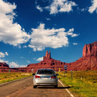 Monument Valley, Utah Arizona.