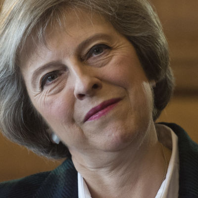 Storbritanniens inrikesminister Theresa May.
