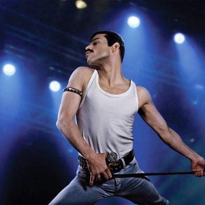 Rami Malek Freddie Mercuryn roolissa.