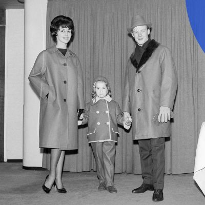 isä, äiti ja lapsi 1961