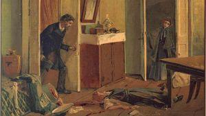 kuvitus Dostoevskin teokseen Rikos ja rangaistus
