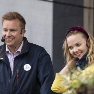 Antti Kaikkonen och Katri Kulmuni.