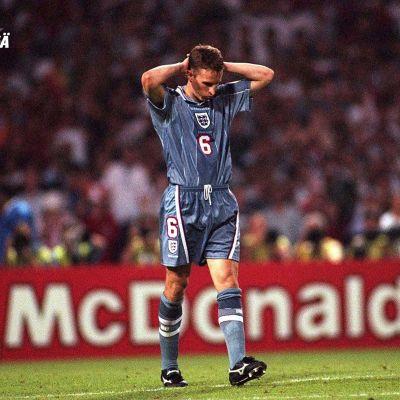Gareth Southgate vuonna 1996.