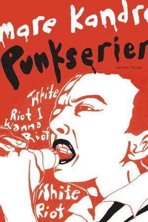 """Pärmbild till seriealbumet """"Mare Kandres punkserier"""""""