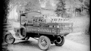 Olvin ensimmäinen kuorma-auto