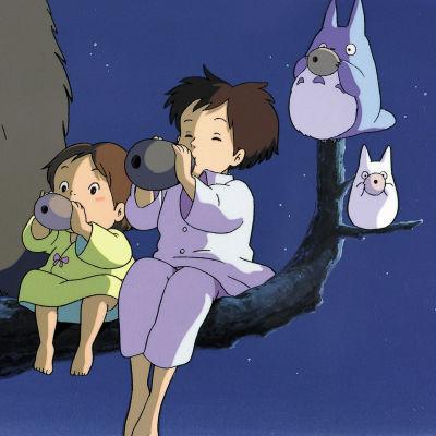 Naapurini Totoro, ohjaus Hayao Miyazaki.
