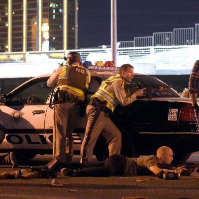 Polis i Las Vegas.