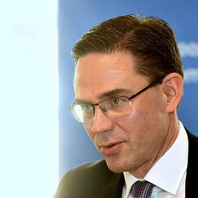 Euroopan komission varapuheenjohtaja Jyrki Katainen.