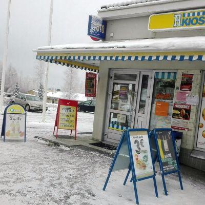 Yli 41 miljoonan euron kuponki ostettiin Kerimäen R-kioskilla.