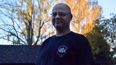 Patrick Lybeck i Sportmåndag 26.10.2015