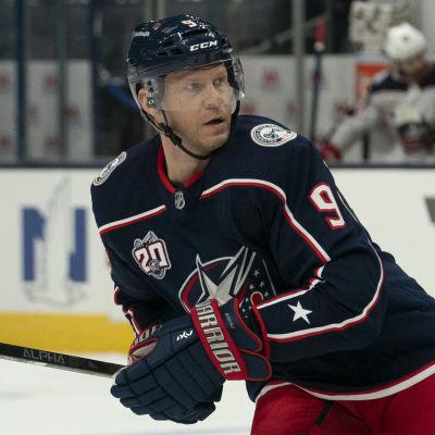 Mikko Koivu debuterade för Columbus.
