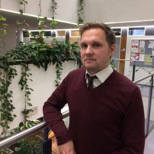 Nikodemus Solitander, forskare i företagsansvar vid Hanken