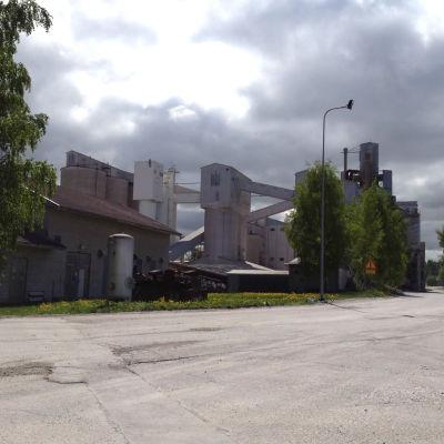 Bild på Tytyri gruva.