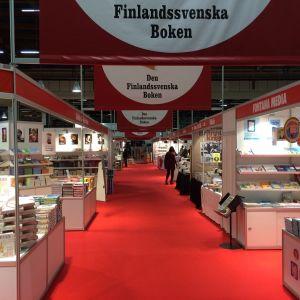 Bokmässan i Helsingfors.