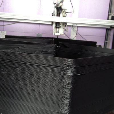 3D-printrar kan printa hela hus.