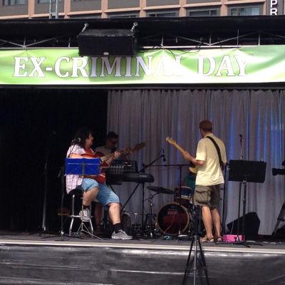 Musik och bekännelser på Excriminalday den 31.7.2014 i Helsingfors