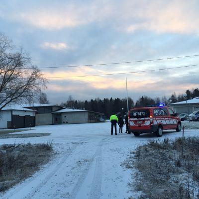 Brandstationen i Korsnäs.