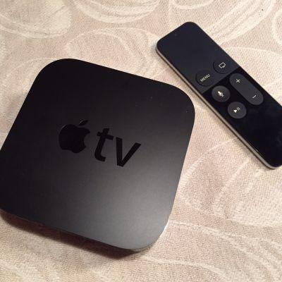 apple tv valikko