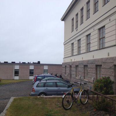 Gymnasiet i Kristinestad.