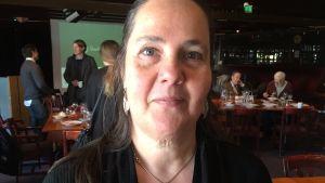 Sia Spiliopoulou Åkermark är forskningsledare för projektet Demilitarisering i en värld av ökad militarisering.