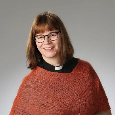 Sonkajärven seurakunnan kirkkoherra Riitta Valtokari