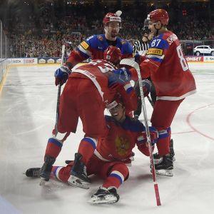 Ryssland firar mål
