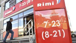 En av svenska Icas Rimibutiker i Norge.