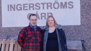 Andreas och Maria Ingerström.