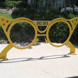 keltainen polkupyöräteline