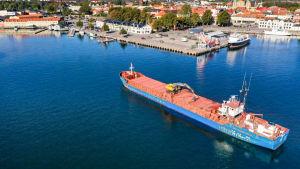 Fartyget Riona