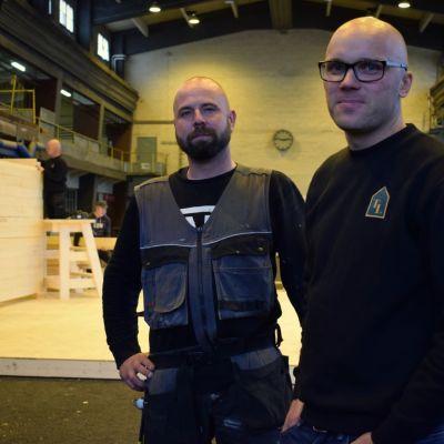 Mikael Eggert och Tom Ek.