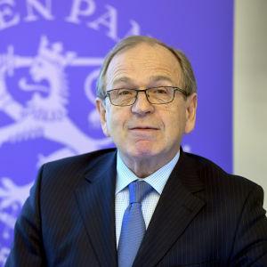 Chefdirektören för Finlands Bank Erkki Liikanen