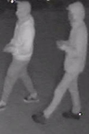 Övervakningskamera: Misstänkta personer
