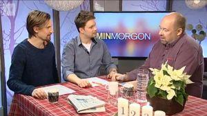 bild på henric öhman, robert nilsson och marcus rosenlund
