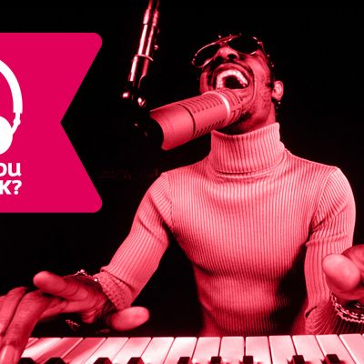 Stevie Wonder och Musiktestets banner