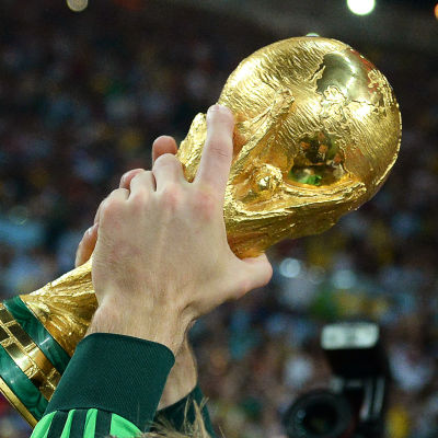 Världsmästerskapspokalen i fotboll.