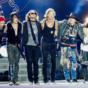 Guns n' Roses i Chicago juli 2016