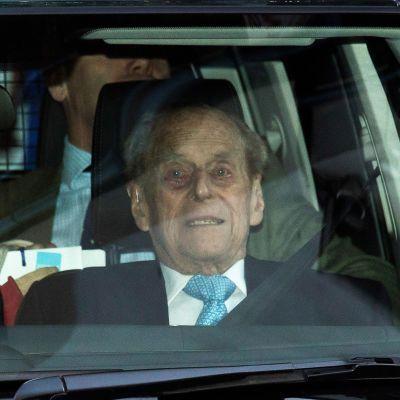 Prinssi Philip pääsi sairaalasta 24.12.2019