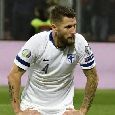 Finlands fotbollslandslag deppar.