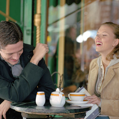 Topher Grace och Scarlett Johansson blir kära i filmen In Good Company.